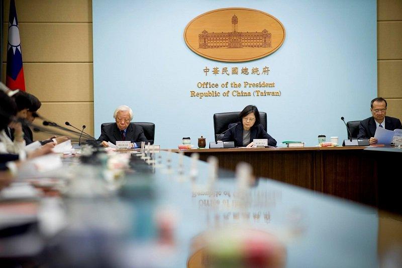 蔡英文總統主持司法改革國是會議第一次籌備會。(取自蔡英文臉書)