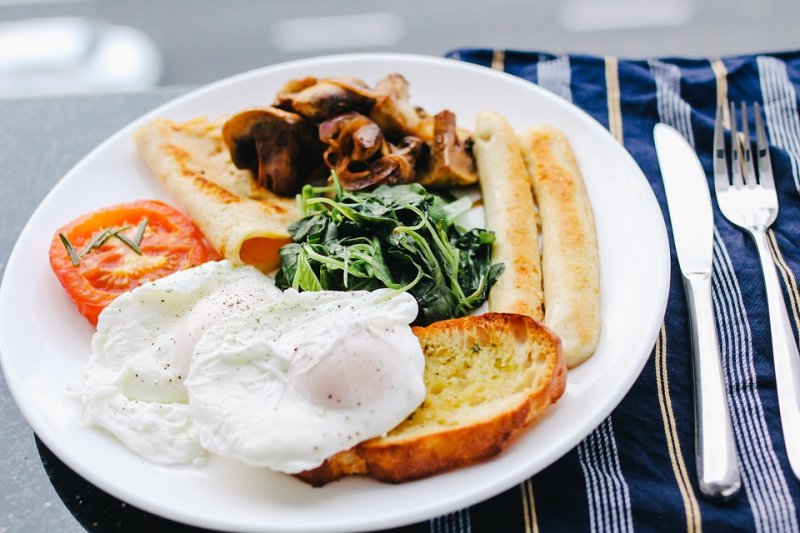 早餐加顆蛋,減肥很簡單!(圖/Pixabay)