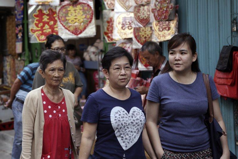 反雅加達首長鍾萬學的聲浪越來越大,當地華人憂心受波及。(美聯社)