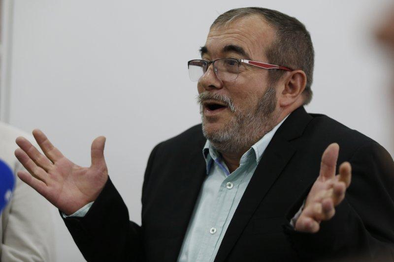 哥倫比亞最大叛軍組織FARC領袖隆多尼歐(Rodrigo Londono)(美聯社)