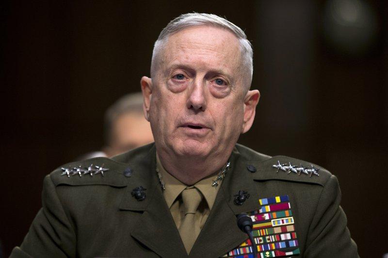 川普政府的準國防部長馬提斯(James Mattis)(AP)