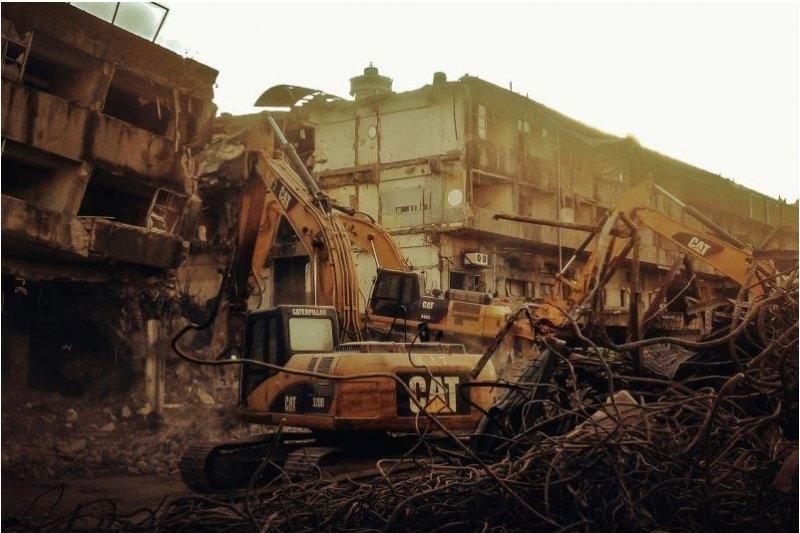 已有40多年歷史的舊建國市場邁入歷史(圖/朱書漢提供)