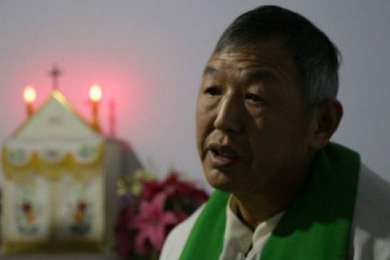 董冠華是不受梵蒂岡和中國當局承認的宗教領袖之一。(圖取自BBC中文網)