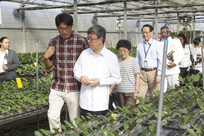 副總統陳建仁今年8月訪問多明尼加(總統府)