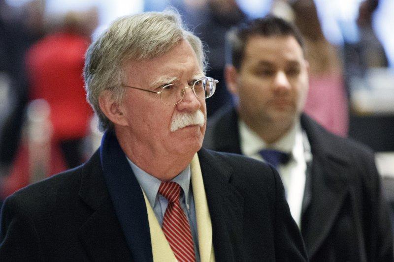 川普新政府國務卿人選之一、前美國駐聯合國大使波頓(John Bolton)