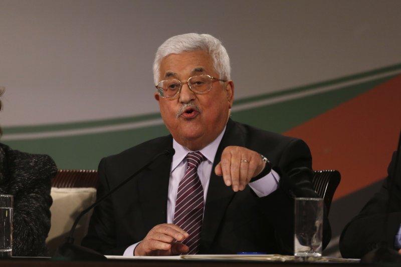 巴勒斯坦自治政府總統、法塔主席阿巴斯。(美聯社)