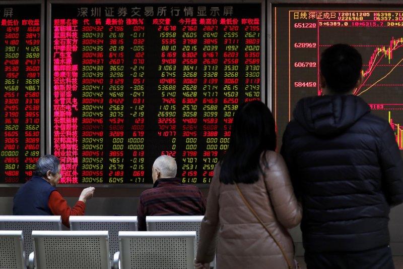 深圳香港股票市場交易互聯互通機制今正式啟動。(美聯社)