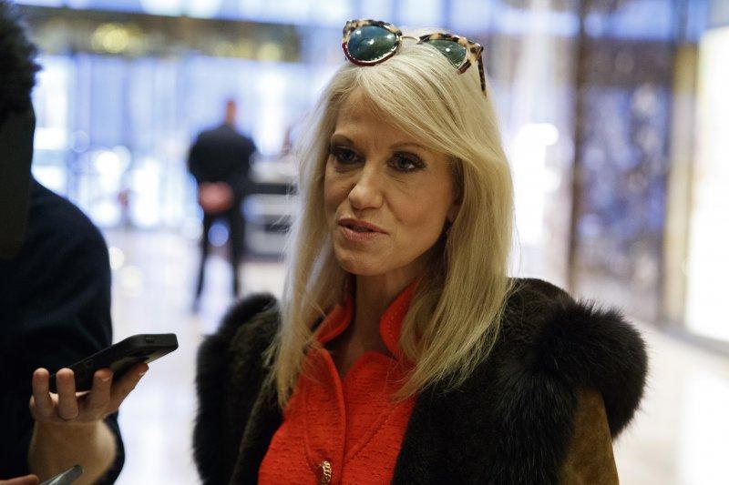 對於「川蔡通話」惹議,川普競選總幹事、現任交接團隊資深顧問康威(KellyAnne Conway)說:「這只是一通電話而已」(美聯社)