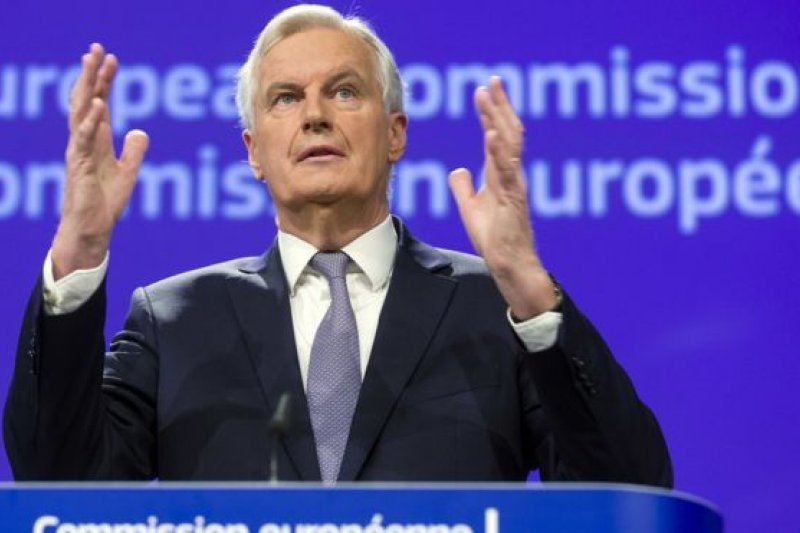 英國脫歐事務歐盟首席談判代表巴尼耶強調,非歐盟成員國不能享有成員國的權益。(圖取自BBC中文網)