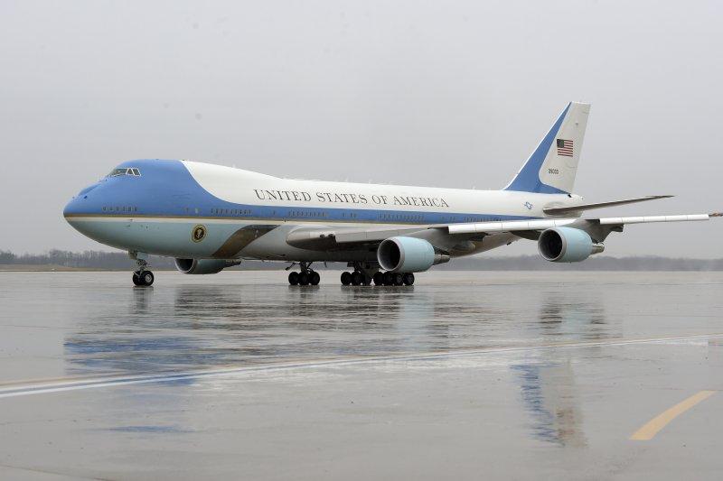 美國總統專機空軍一號使用波音747機型。(美聯社)