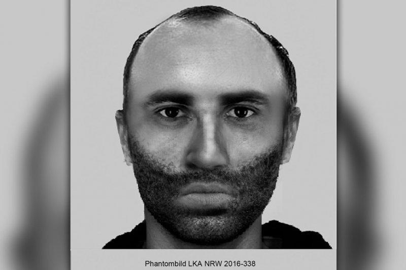 波鴻警方發布的嫌犯合成畫像。