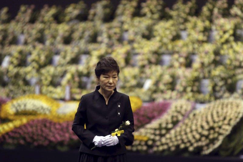 南韓總統朴槿惠(AP)