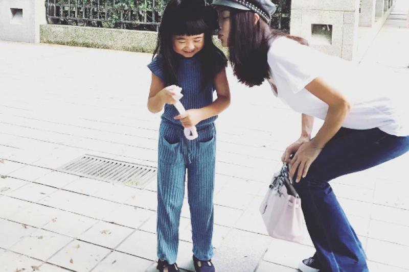 孩子的身高,跟父母有絕對關係嗎?(圖/5400wu@instagram)