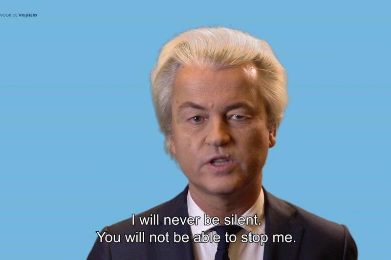 荷蘭右翼政黨「自由黨」領導人威爾德斯(Geert Wilders)。(美聯社)