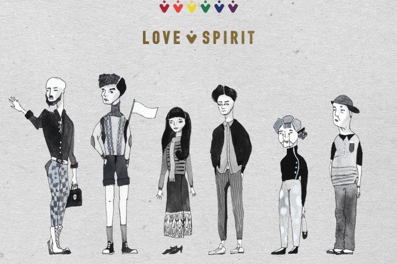 台師大學生雙人團隊Love Spirit作品