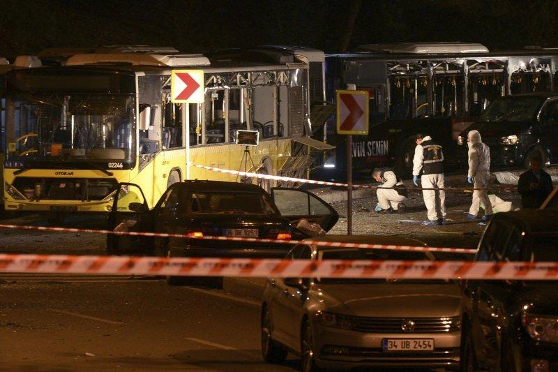 土耳其第一大城伊斯坦堡10日晚間遭到恐怖攻擊,造成慘重死傷(AP)