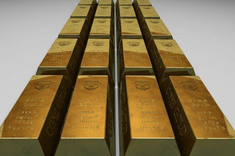市場避險情緒消退,引發黃金價格大崩盤。(圖/PublicDomainPictures@pixabay)