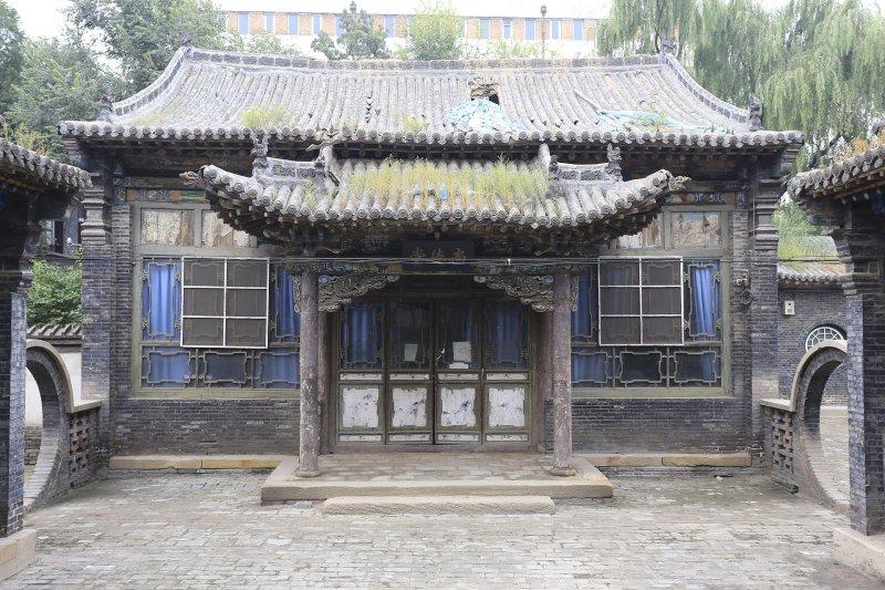 山西銘賢學校舊址:尚德堂。(Zhangzhugang@Wikipedia/創用CC 姓名標示-相同方式分享 3.0)