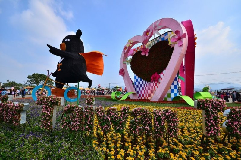 台中享有「花卉之都」的美名,因此成為2018世界花博主場地,同時也作為2020年國際蘭花會議場地。(圖/擷取自台中觀光旅遊網)