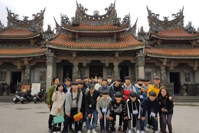 台灣新北旅遊在韓國正夯!韓國元堂國中海外旅遊就選新北。(圖/新北市政府觀光旅遊局提供)