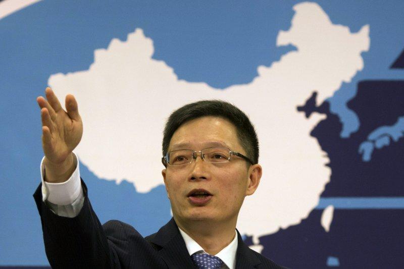 中國國務院國台辦發言人安峰山(AP)