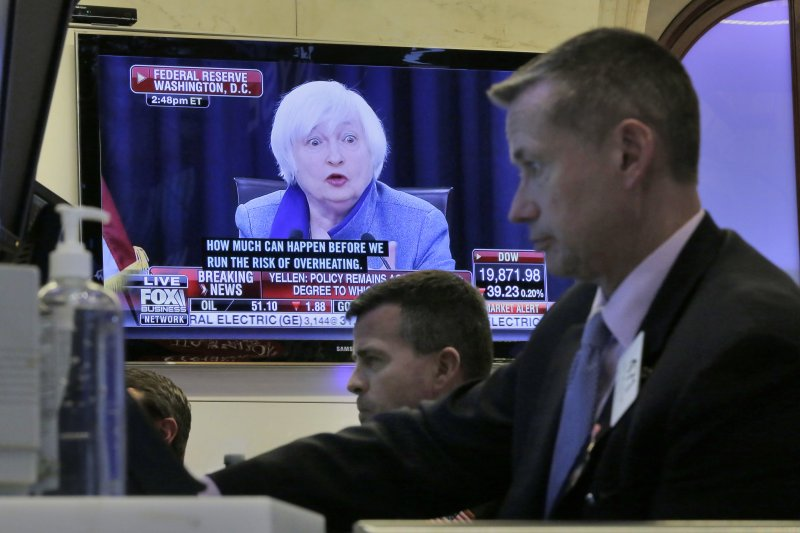 美國聯準會實施大幅縮表以及漸進升息的總經緊縮貨幣政策。(美聯社)