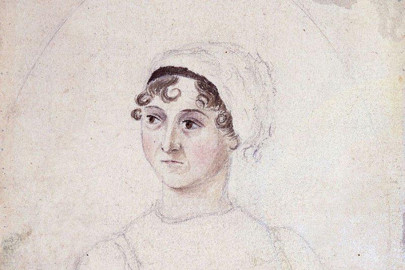 1810年,珍.奧斯汀(Wikipedia/Public Domain)