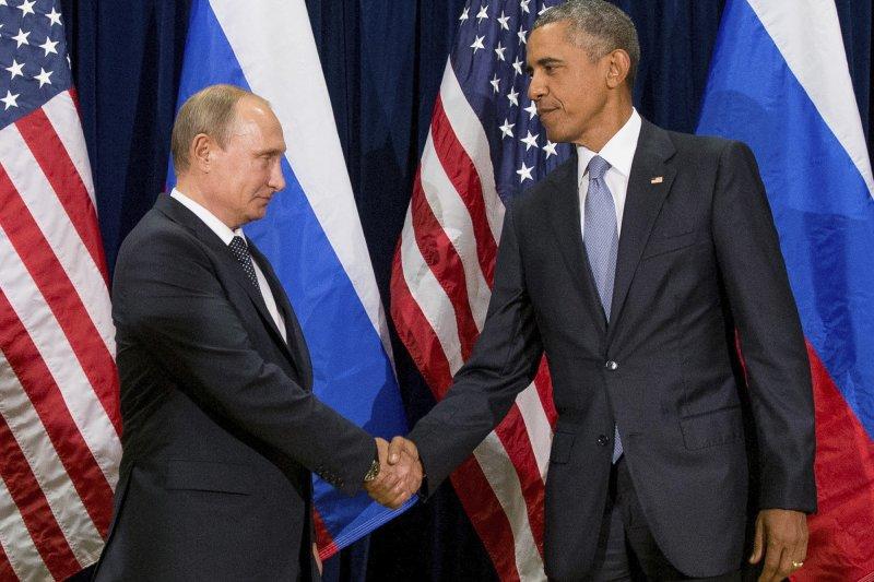 CIA指控俄國政府意圖干預美國大選,歐巴馬揚言一定要報復。(美聯社)