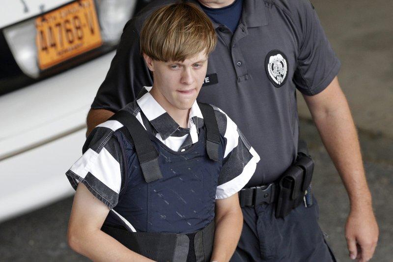 犯下2015年6月17日美國南卡羅來納州教堂屠殺案的兇手魯夫(Dylann Roof)(AP)