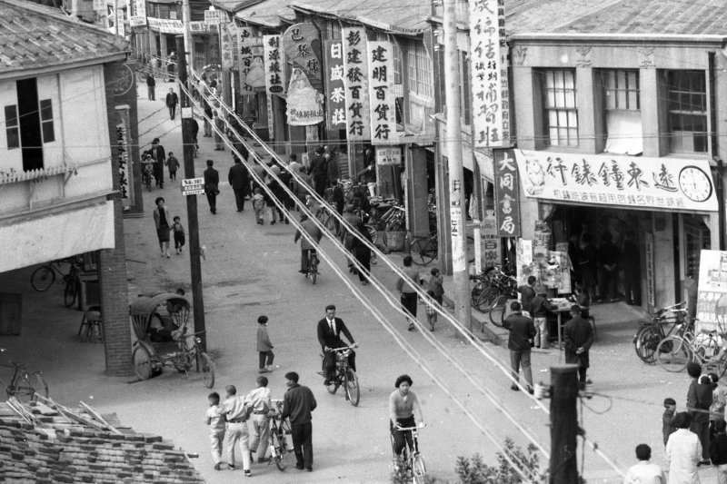 臺三線經典攝影展,〈舊時節个長春路〉新竹竹東,1977,李增昌(臺博館)