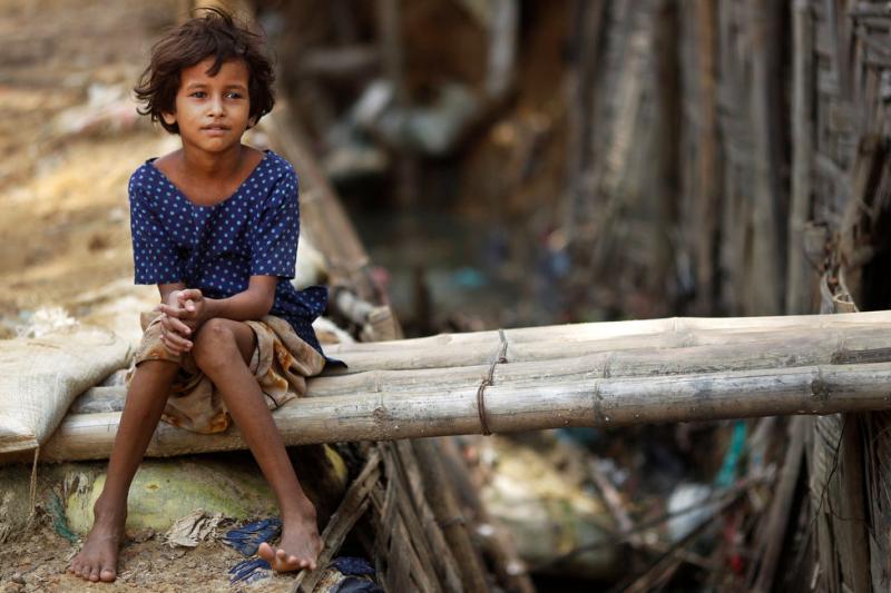 羅興亞人(Rohingya)。(AP)
