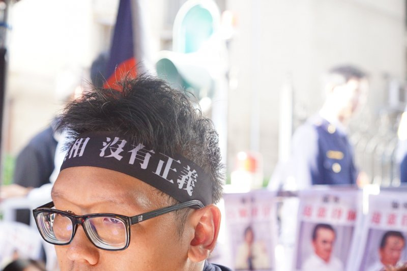 黨產會主委顧立雄與國民黨黨工對談。(盧逸峰攝)