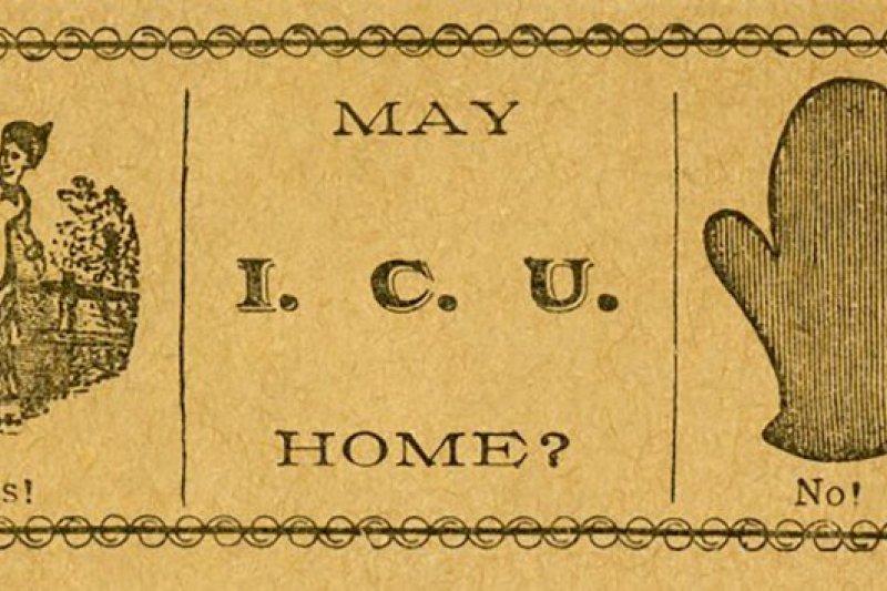 19世紀末的祕密情感,調情卡記錄著那個時代的愛情。(圖/Outside提供)(圖/Outside提供)