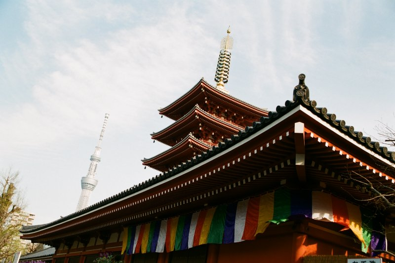 一個人的東京行,就去這些適合自己慢慢晃的地方吧!(圖/bryan...@flickr)