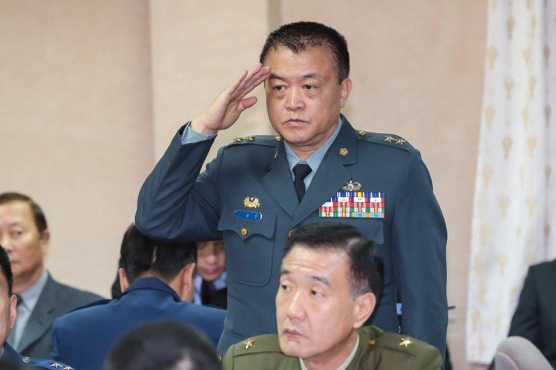 20161222-作戰及計畫參謀次長姜振中中將22日出席立院國防委員會。(顏麟宇攝)
