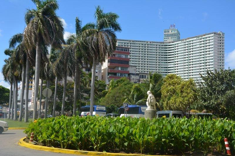 古巴國家大酒店。(張冬凝攝)