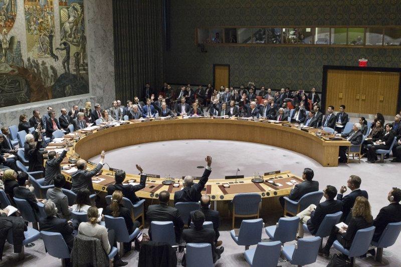 聯合國安理會23日通過決議譴責以色列在約旦河西岸與東耶路撒冷擴建屯墾區(AP)