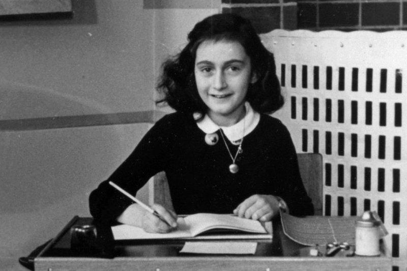 《安妮的日記》作者安妮.法蘭克(Anne Frank)(Wikipedia / Public Domain)