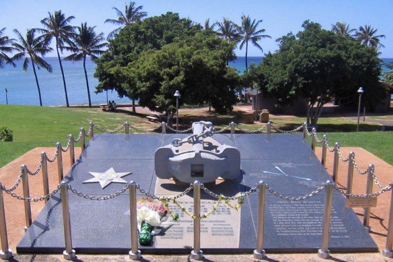 愛媛丸事件紀念碑。(Scott Dahlem@Wikipedia/公用領域)