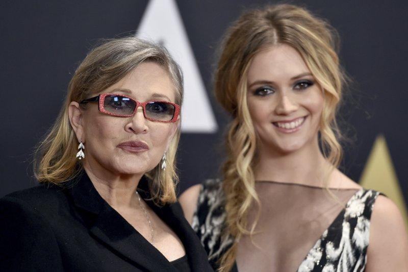 嘉莉費雪(Carrie Fisher)和女兒比莉洛爾德(Billie Lourd)(AP)
