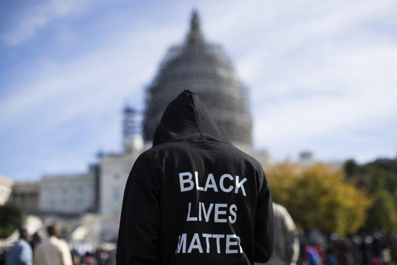 警察兄弟會主席坎特貝里認為,「黑人的命也是命」運動中夾帶著暴力問題(AP)
