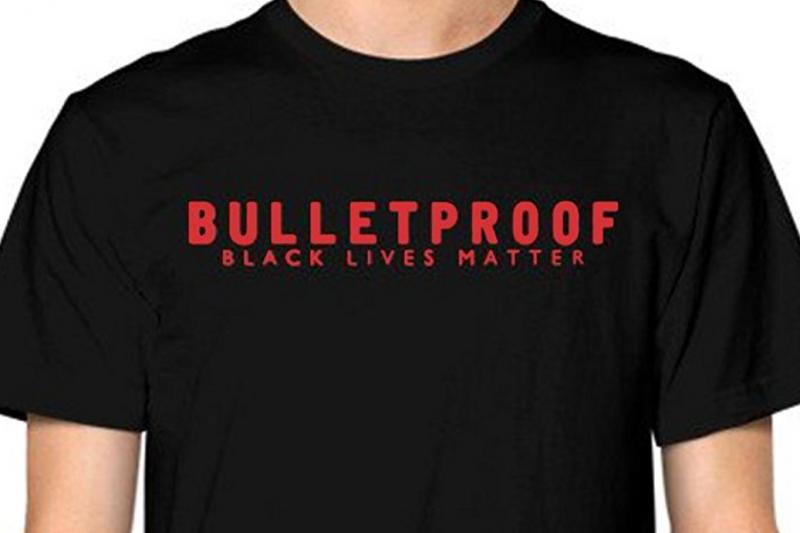 美國最大警察組織「警察兄弟會」要求亞馬遜和沃爾瑪停止販售帶有爭議字句的上衣(翻攝Amazon)