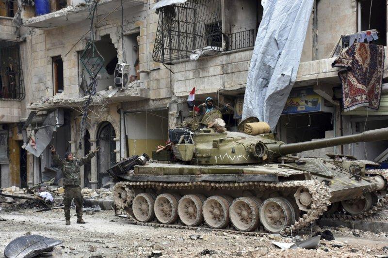 敘利亞內戰2011年3月鏖戰至今,荼毒無數生靈(AP)