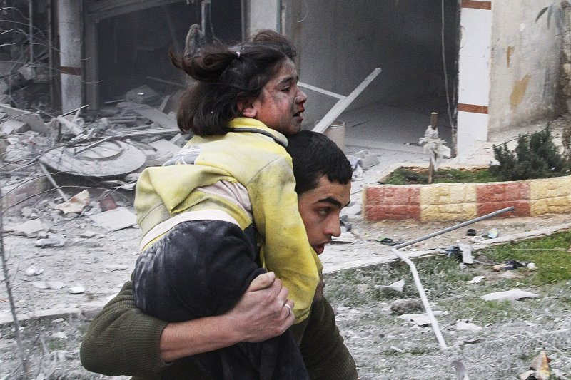 敘利亞大城阿勒坡攻防戰,平民死傷慘重(AP)