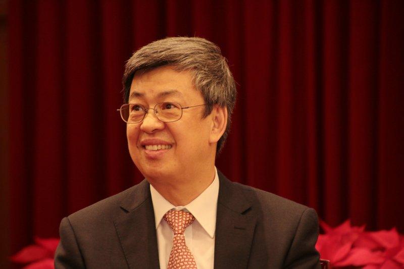 總統府年終記者會,陳建仁副總統(總統府記者聯誼會提供)