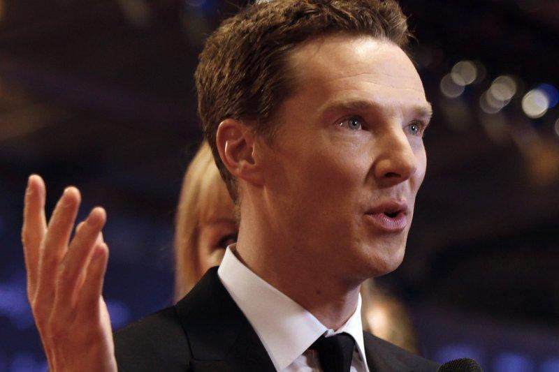 英國名演員班奈狄克康柏拜區(Benedict Cumberbatch)(AP)