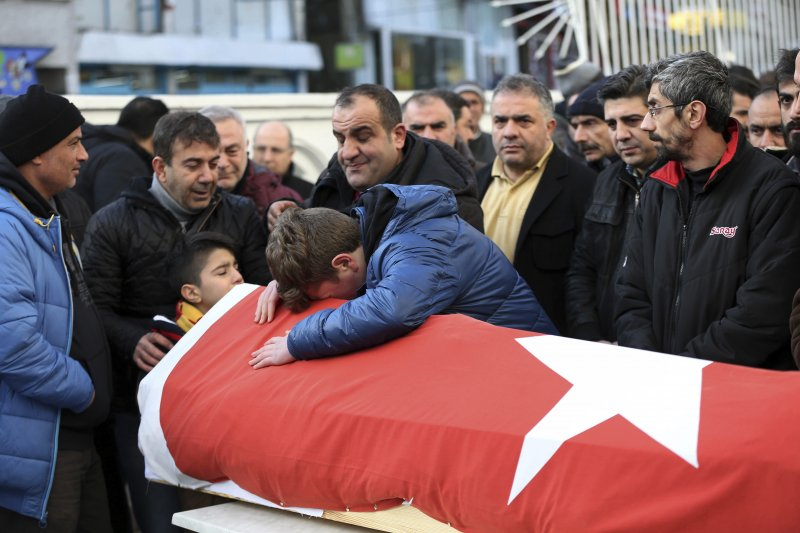 土耳其伊斯坦堡經歷2017年全球首場恐攻(AP)