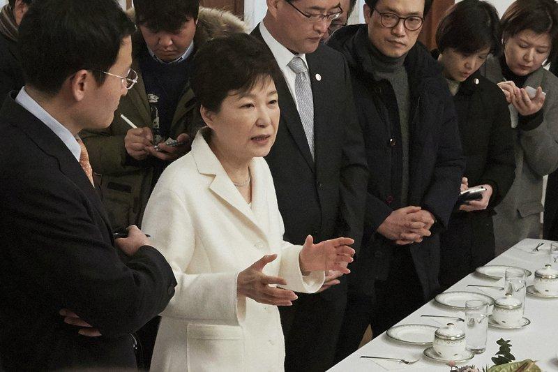 南韓總統朴槿惠。(美聯社)