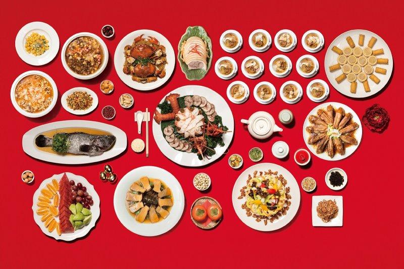 隨著年節的腳步漸近,許多人早已著手預訂年節間的用餐地點或選購年菜。(圖/華漾大飯店提供)