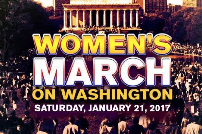 女人向華盛頓進軍活動已吸引16萬人參加。(圖取自Women's March on Washington臉書)